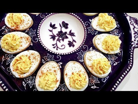 How to Make Deviled Eggs ~ The Best Classic Deviled Eggs Recipe ~ Amy Learns to Cook