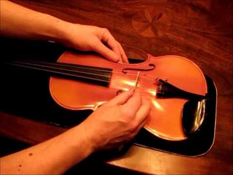 How to set up a violin bridge