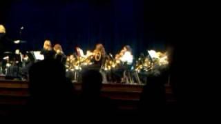Miranda' all county saxophone solo