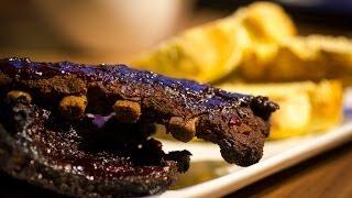 Folge10 - 3-2-1 Barbecue Cherry Ribs Deutsches BBQ- und Grill-Rezept