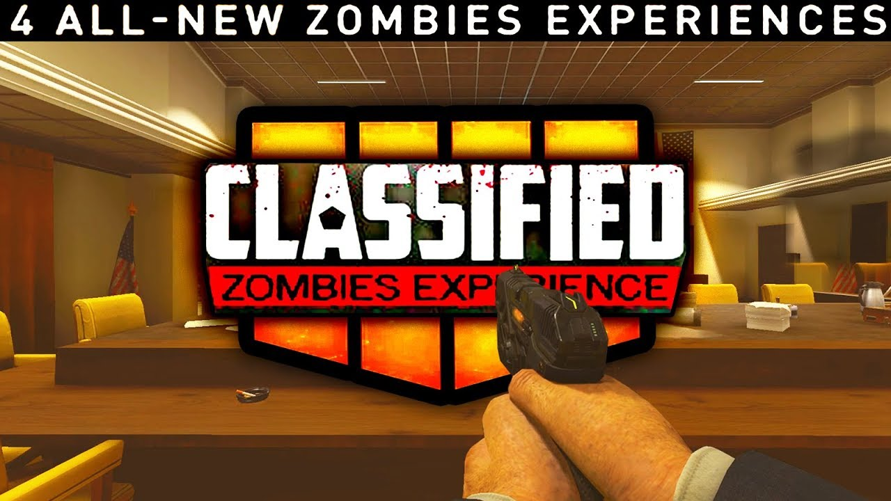 black ops 4 classified zombies map code