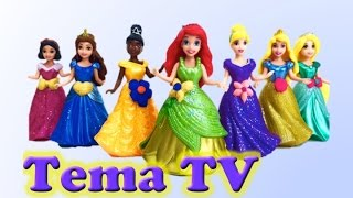 Диснеевские принцессы меряют платья. Видео для детей. Disney Princess MagiClip Collection(Лучшие платья диснеевских принцесс. Одеваем принцесс в лучшие платья. Игра для девочек в переодевание ..., 2015-04-18T03:21:15.000Z)