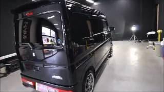 G'ZOX大阪 スピード関西 スズキエブリィワゴン ブルーイッシュブラックパール