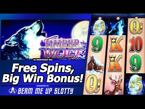 Timberwolf Slot Free Spins Big Win Bonus With 15x