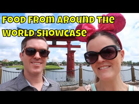 Epcot's Japan Pavilion Part 2 - Trying Candy & Food From Around the World Showcase
