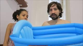Обзор надувной ванночки для младенцев BestWay. Какую ванночку для купания лучше выбрать для ребенка