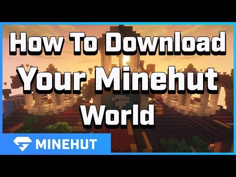 How to Download Your World From Your Server | Minehut 101 - YouTube