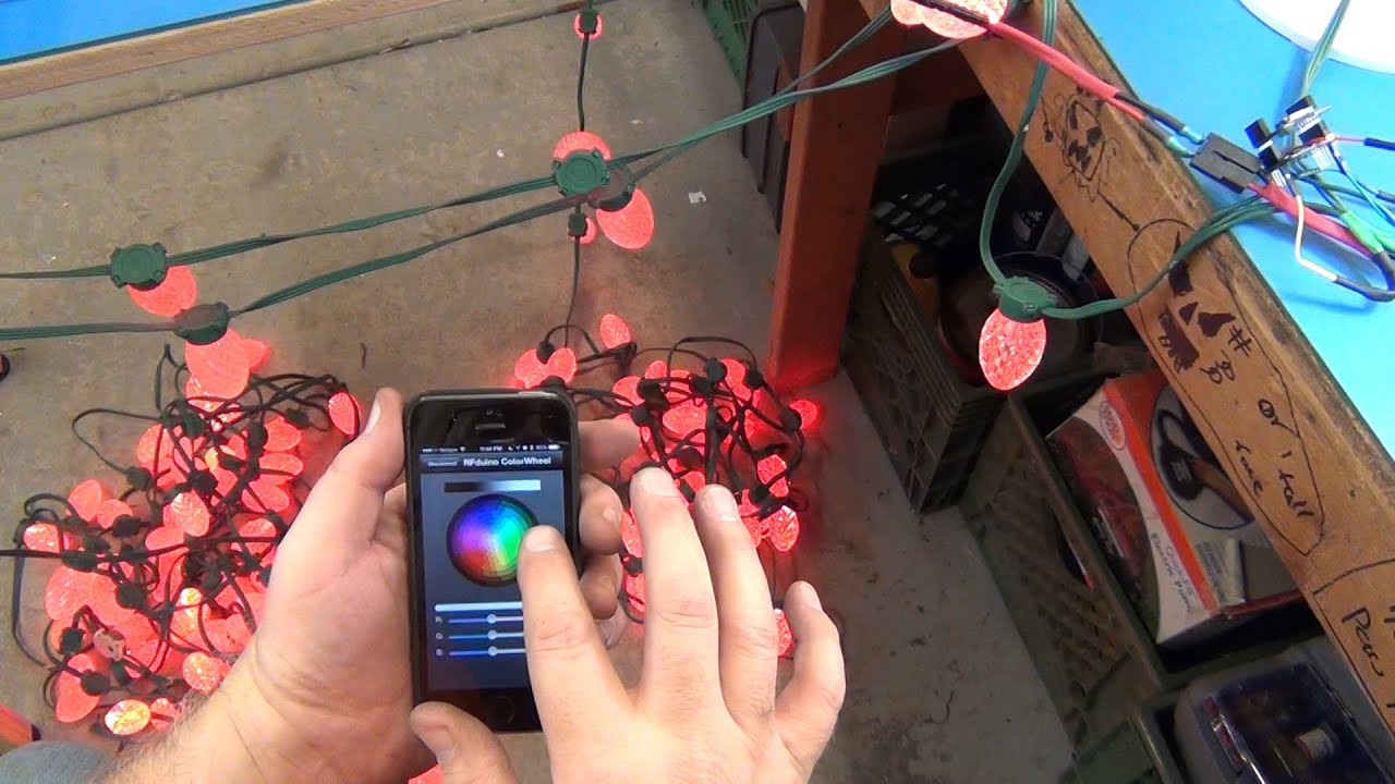 iphone christmas lights controller for ge g 35 led you