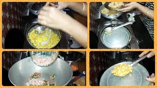 SCHOOL ROUTINE|PREPARING CABBAGE EGG BURJI,HEALTHY UPMA|INDIAN MOM BUSY MORNING SCHOOL ROUTINE