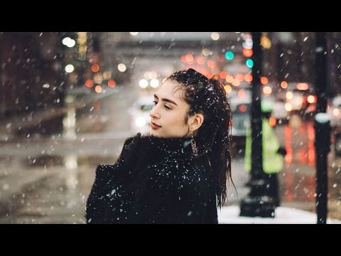 WINTER SNOW STORM Photoshoot in the City!