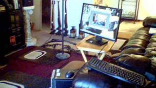 Nov 4--entertainment Center Finally!!!---- 7.1 Surrond Sound ----- Hdtv ---- Wine Cart