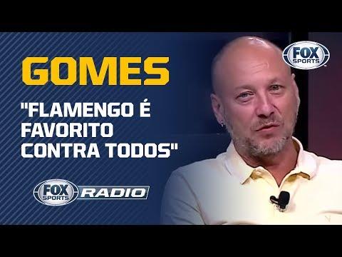 """""""FLAMENGO É FAVORITO CONTRA TODOS"""", DIZ FLÁVIO GOMES! Jogo contra o Santos é tema de debate"""