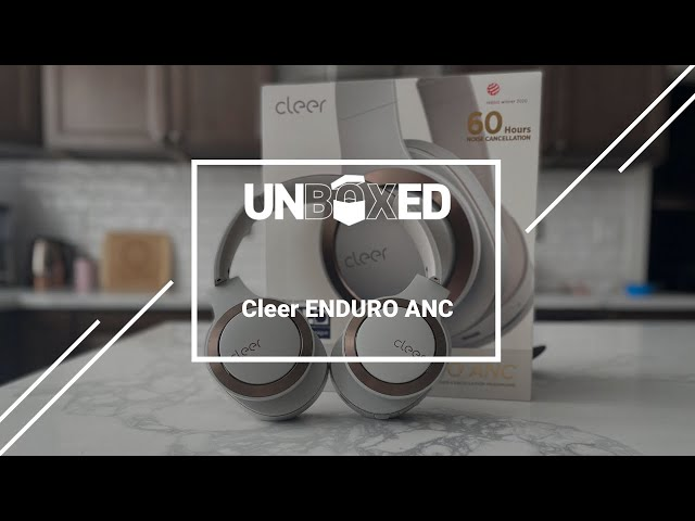UNBOXED: Cleer ENDURO ANC