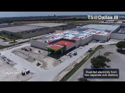 T5@Dallas Data Center Campus - Opens T5@Dallas III