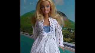 Вязаная одежда для кукол Барби.👍🍓🌷💐🍓😊