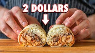 The 2 Dollar Burrito   But Cheaper