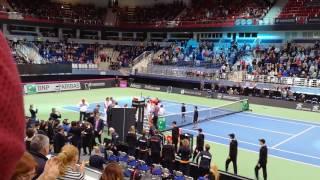 Арина Соболенко - победа! FedCup 12.02.2017