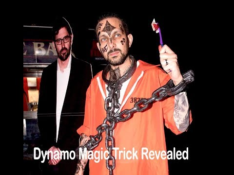 Dynamo Demon Magic Trick Revealed [new 2020 ] |  Magician Impossible