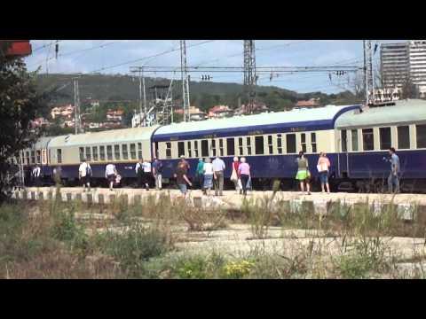 Danube express Носталгия експрес с локомотив 44 105