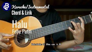 halu-feby-putri-karaoke-instrumental-chord-lirik