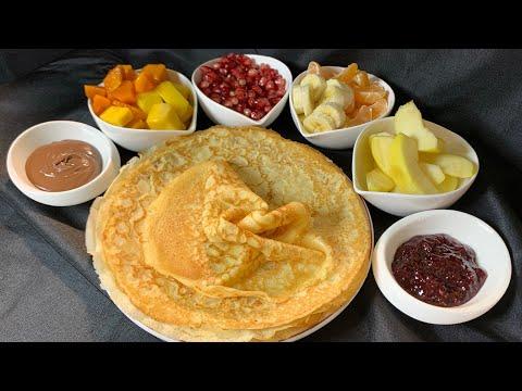 recette-de-crêpes-ultra-facile-et-rapide-🥞-كريب-المطاعم-بأسهل-و-أسرع-طريقة