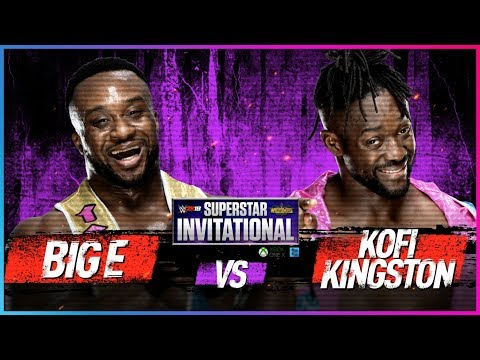 BIG E Vs. KOFI KINGSTON: Rd. 1 - WWE 2K18 Superstar Invitational Tournament