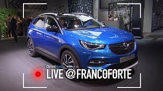 Opel Grandland X, il SUV che ci voleva | Salone di Francoforte 2017
