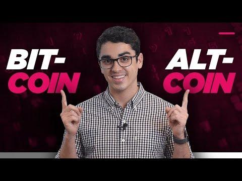 A diferença entre BITCOIN e ALTCOIN 🖥   💴