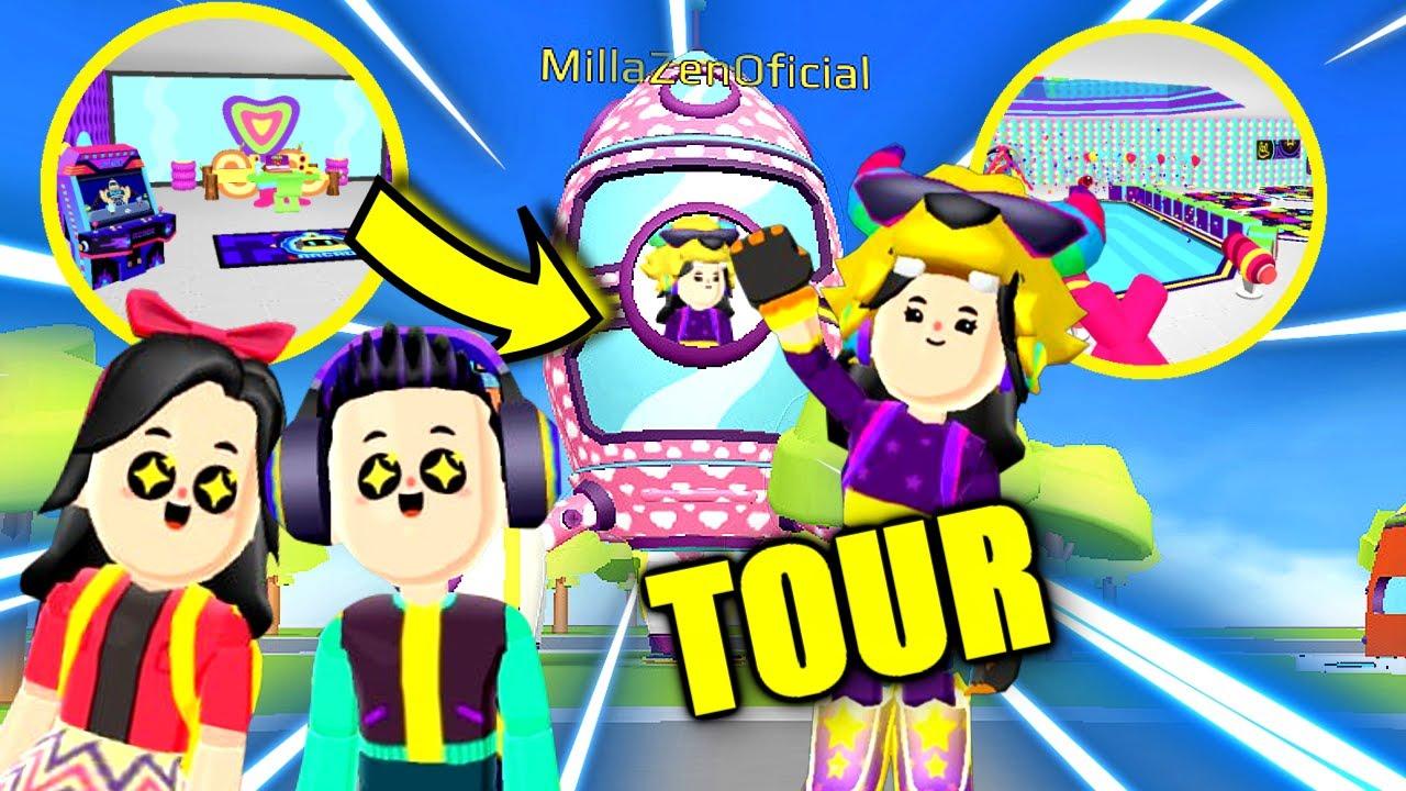 TOUR PELA MINHA CASA FOGUETE !! (PK XD game)