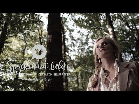 Spreken uit Liefde- Trouwambtenaar Reinolda de Bruin