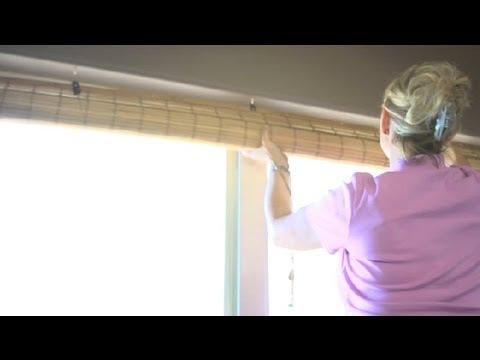 How to Assemble Bamboo Roll-Up Shades : Home Design Ideas