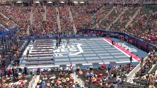 The CrossFit Games - Team Solo Sprints & Worm Final - Wide View