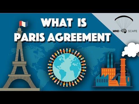 Paris agreement simplified