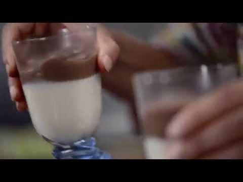 Choco Vanilla Layered Blancmange | Easy 3 step recipe