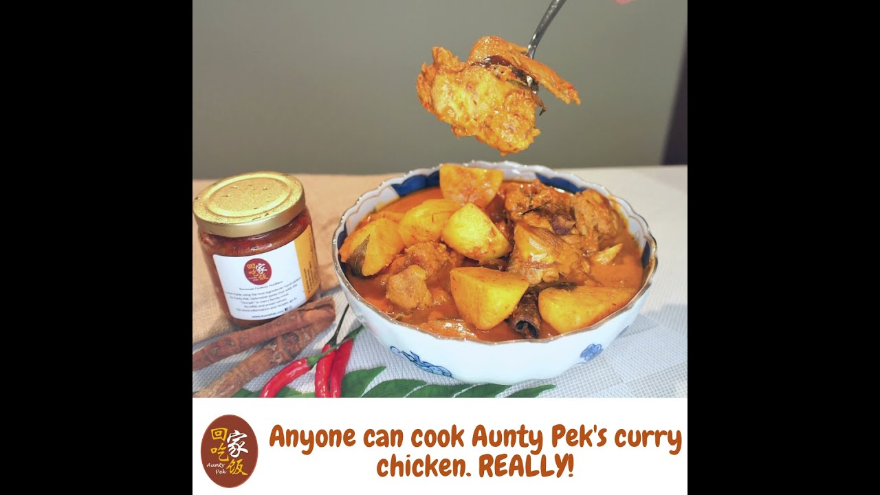 Super easy. How to cook Aunty Pek's curry chicken.