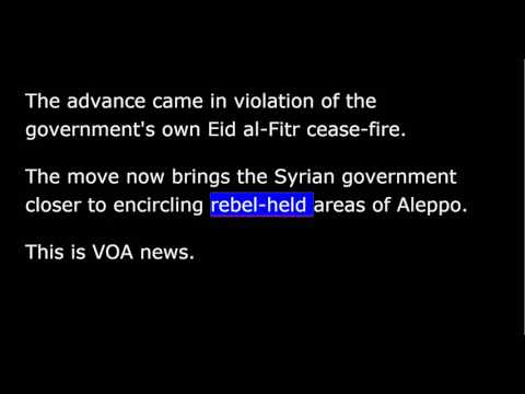 VOA news for Friday, July 8th, 2016