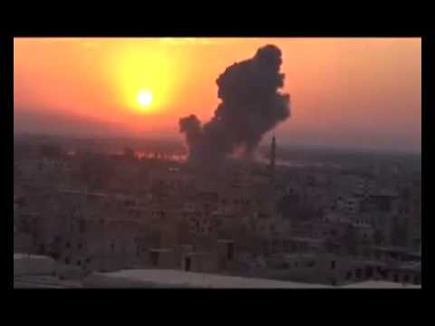 Incredible Massive Explosion in Syria