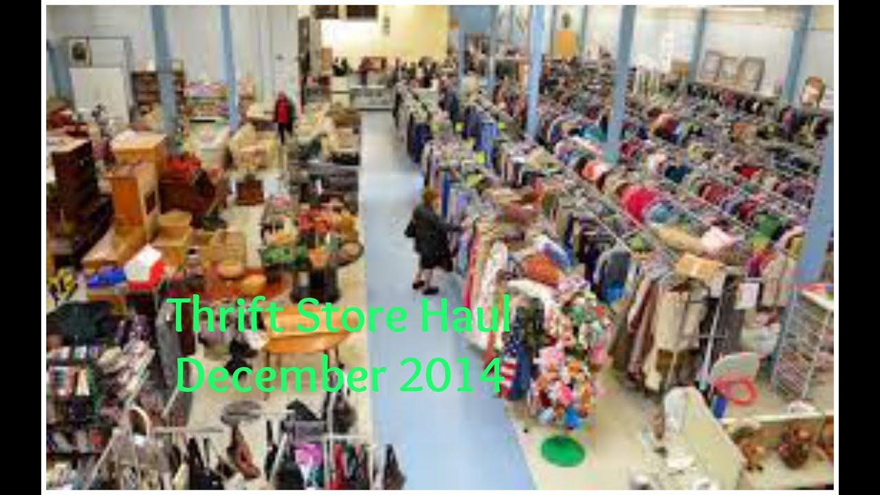 Thrift store haul december 2014 youtube