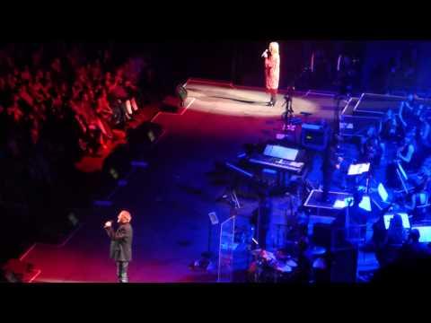 John Farnham and Olivia Newton John - Burn For You Two Strong Hearts Tour Melbourne 8/4/15