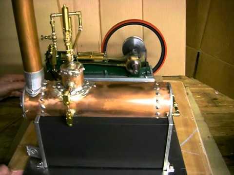 Model Steam Drilling Engine 3