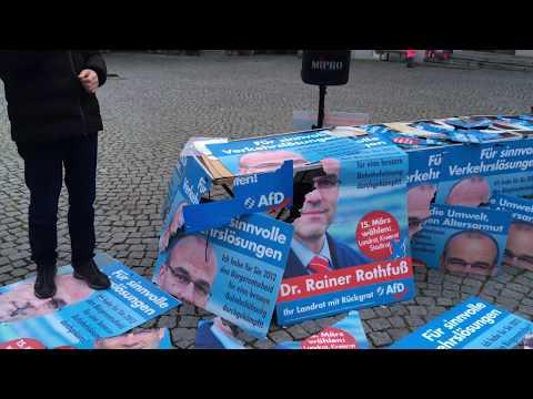 """Lindau: """"Rothfuß Rainer, den braucht keiner!"""" - Sprechchöre aus 200 Kehlen. Argumente = Fehlanzeige."""