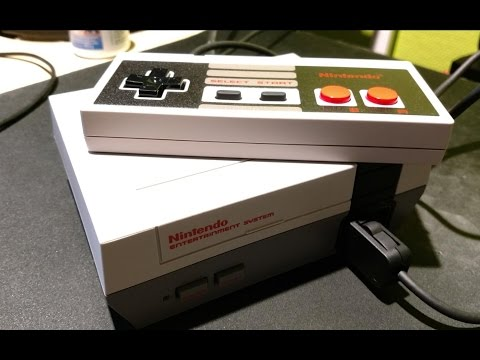 Nintendo NES Classic Mini kurz angetestet