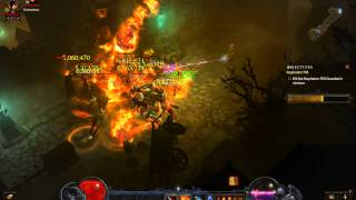 diablo 3 ros 13m t6 rift clear with one skill wiz fb gold wrap