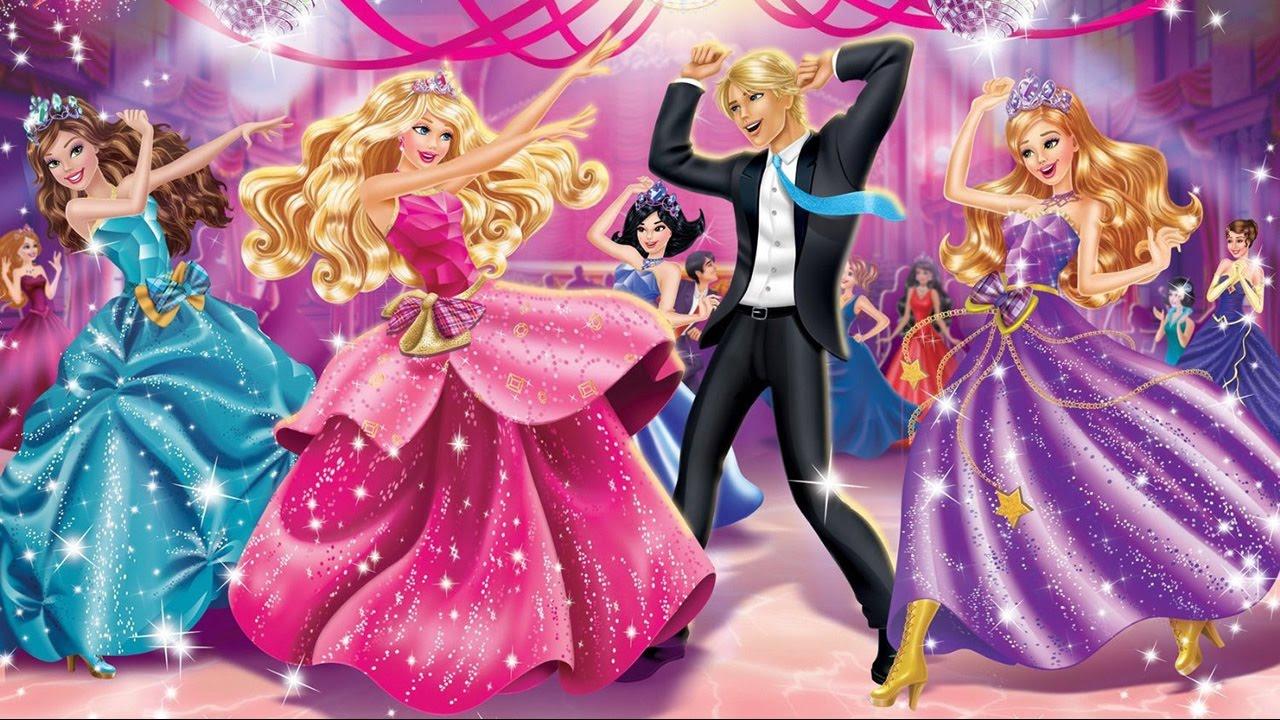 Barbie Films Barbie Films Deutsch Barbie Die Prinzessinnen Akademie Zeichentrickfilms Youtube