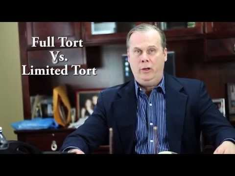 PA Auto Insurance - Altoona Injury Lawyer Recommends Full Tort