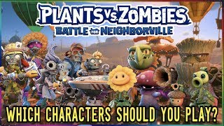 Plants vs. Zombies Battle For Neighborville Best Characters To Use? All New Character Classes!