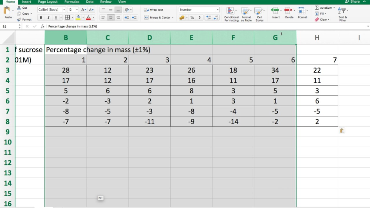 how to make table in excel 2007