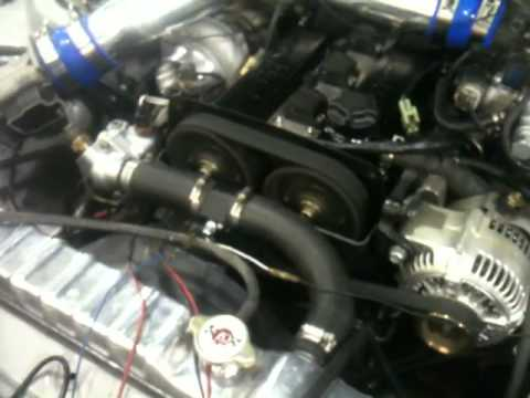 Repeat 7MGTE Stock ECU, Blow through AFM, 1200CC Injectors