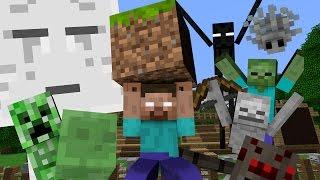Monster School: Building - Minecraft