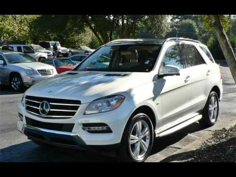 2012 mercedes benz ml350 for sale in marietta ga youtube. Black Bedroom Furniture Sets. Home Design Ideas